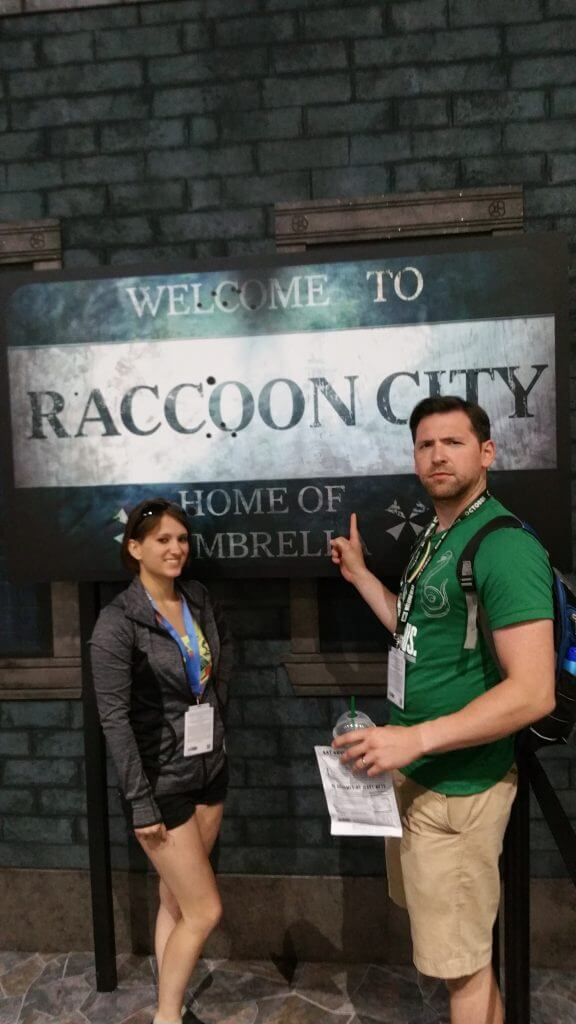 Resident Evil 2 Raccoon City Sign
